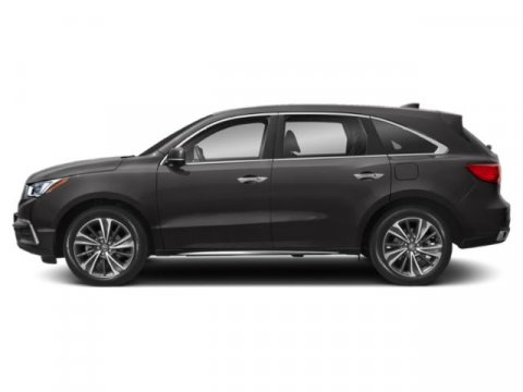 2019 Acura MDX with Technology Pkg Modern Steel MetallicEspresso V6 35 L Automatic 10 miles T