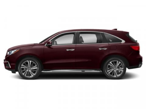 2019 Acura MDX with Technology Pkg Performance Red PearlParchment V6 35 L Automatic 10 miles