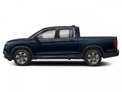 2019 Honda Ridgeline RTL Obsidian Blue PearlGray V6 35 L Automatic 5 miles  GRAY LEATHER SEAT