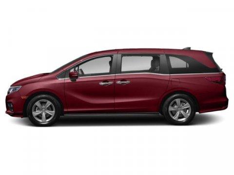 2019 Honda Odyssey EX-L Deep Scarlet PearlBeige V6 35 L Automatic 5 miles  DEEP SCARLET PEARL