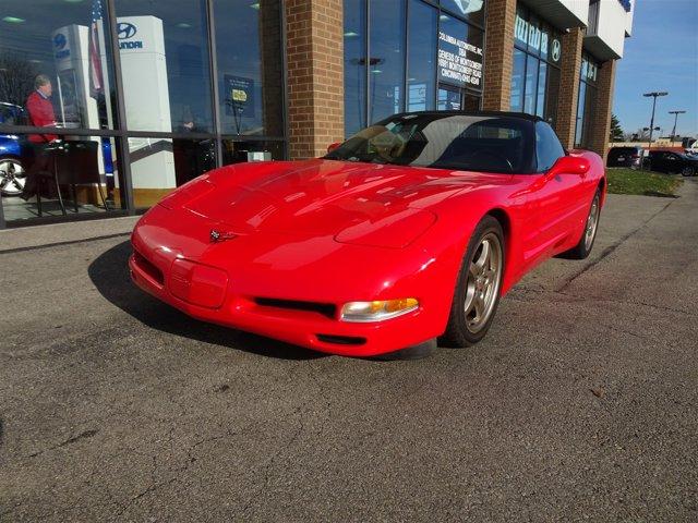 2000 Chevrolet Corvette 2dr Convertible TORCH RED