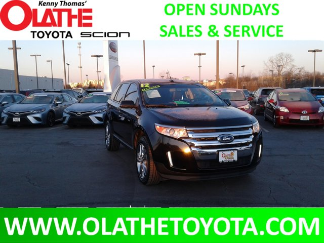 2012 Ford Edge 4dr SEL FWD BLACK Bucket Seats