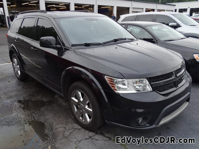 2012 Dodge Journey FWD 4dr R/T BRILLIANT BLACK CRYSTAL PEARL