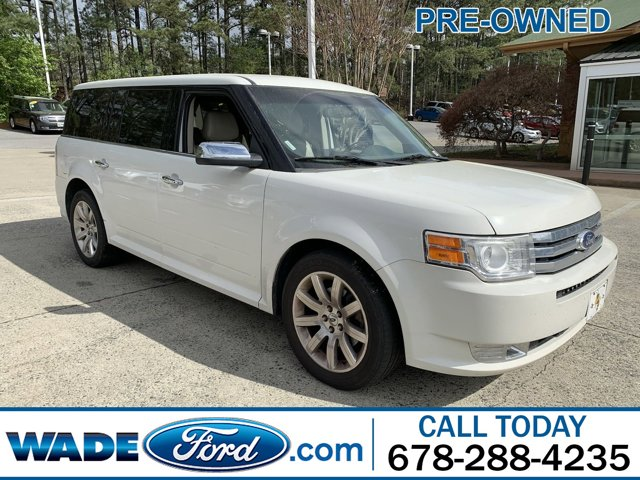 2011 Ford Flex 4dr Limited FWD WHITE SUEDE