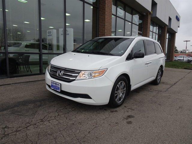 2013 Honda Odyssey 5dr EX-L w/RES TAFFETA WHITE