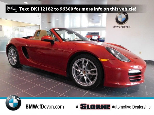 2013 Porsche Boxster 2dr Roadster RED Bucket Seats Brake Assist