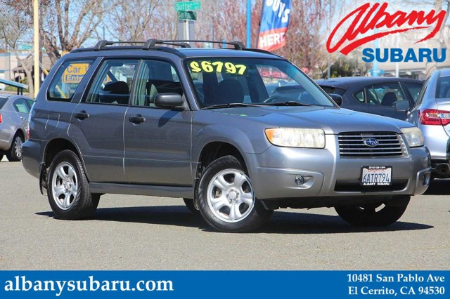 2007 Subaru Forester AWD 4dr H4 MT Sports X URBAN GRAY METALLIC