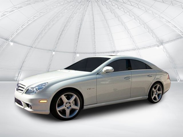 2008 Mercedes-Benz CLS-Class 4dr Sdn 6.3L AMG ARCTIC WHITE