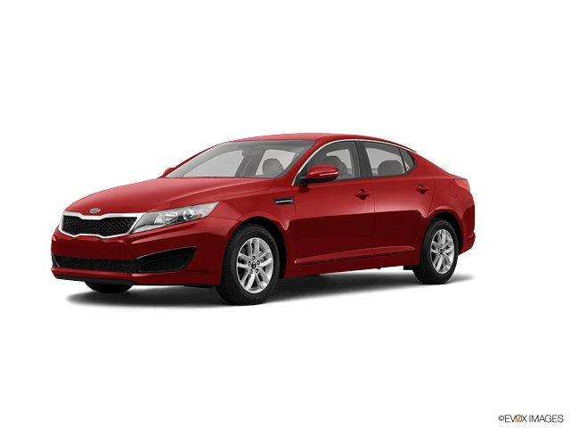 2011 Kia Optima 4dr Sdn 2.4L Man LX SPICY RED CD Player