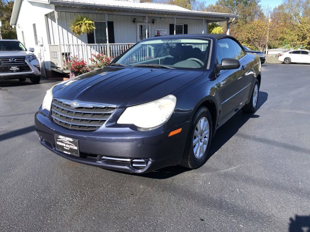 2008 Chrysler Sebring 2dr Conv LX FWD BLUE Body-color fascias