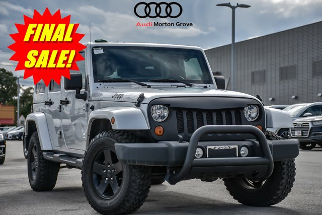 2012 Jeep Wrangler Unlimited 4WD 4dr Arctic BRIGHT SILVER