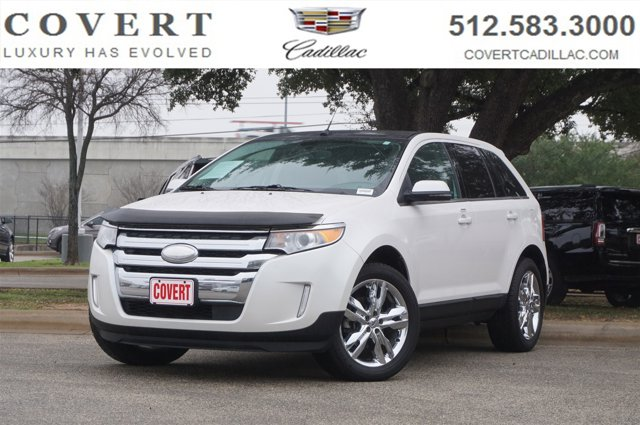 2012 Ford Edge 4dr Limited AWD WHITE Back-Up Camera
