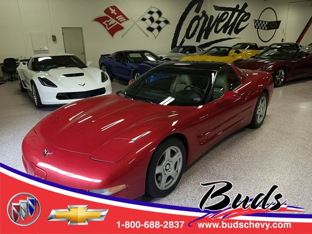1998 Chevrolet Corvette 2dr Cpe LIGHT CARMINE RED (MET)
