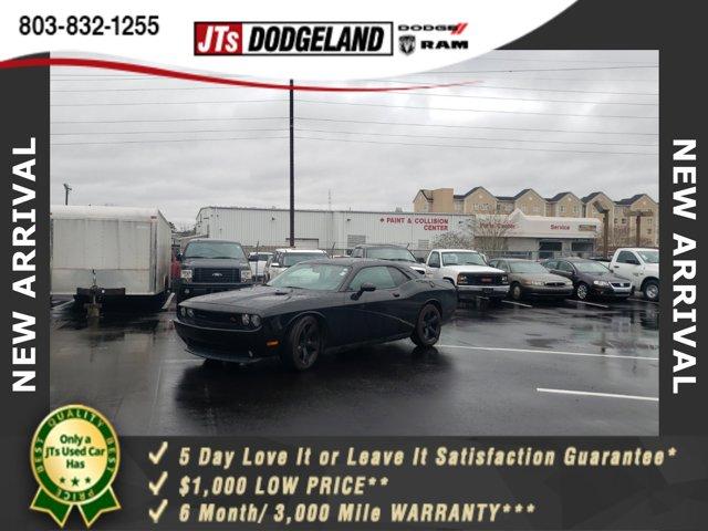2013 Dodge Challenger 2dr Cpe R/T BLACK 5.7L Hemi VVT V8 engine
