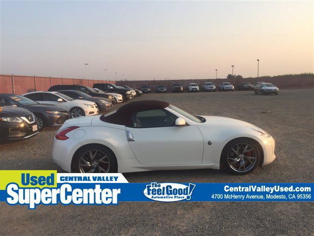 2014 Nissan 370Z 2dr Roadster Auto Touring PEARL WHITE