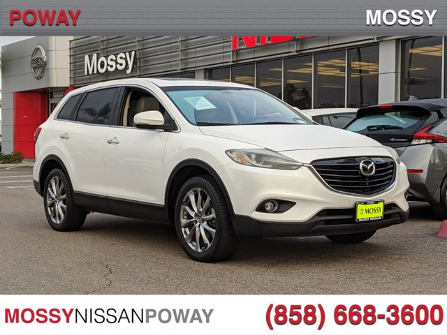 2014 Mazda CX-9 FWD 4dr Grand Touring CRYSTAL WHITE PEARL MICA
