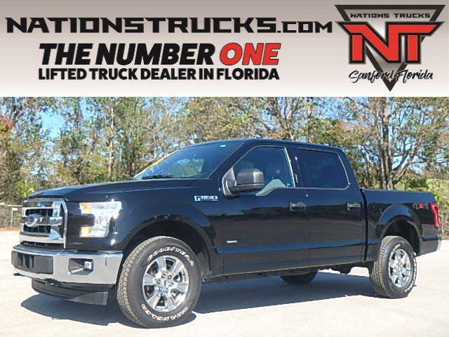 Certified 2017 Ford F-150 XLT 4WD SuperCrew 5.5