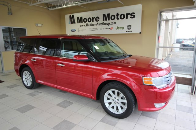 2012 Ford Flex 4dr SEL FWD 6-speed automatic transmission
