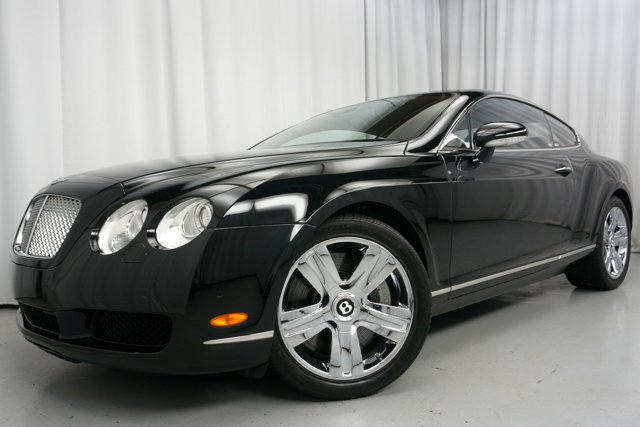 2007 Bentley Continental GT 2dr Cpe BELUGA BELUGA BLACK PAINT