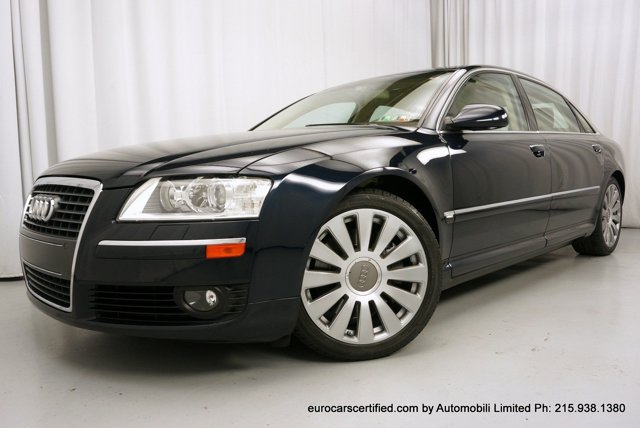 2007 Audi A8 L 4dr Sdn 4.2L NIGHT BLUE PEARL