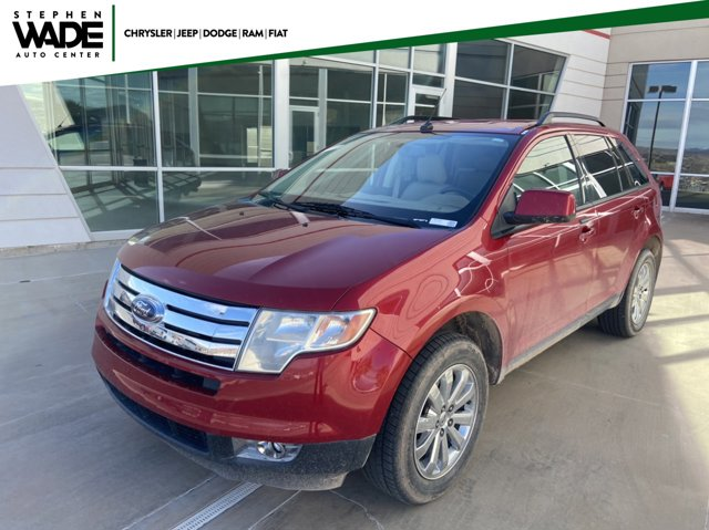 2010 Ford Edge 4dr SEL FWD RED CD Changer Bucket Seats