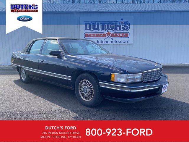 1995 Cadillac Deville 4dr Sedan BLUE