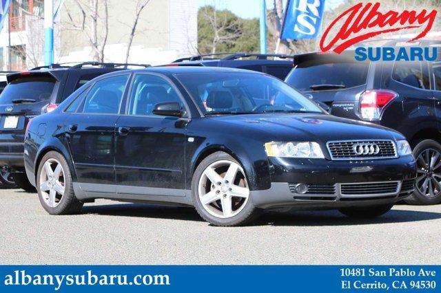 2003 Audi A4 4dr Sdn 1.8T CVT BRILLIANT BLACK CD Changer
