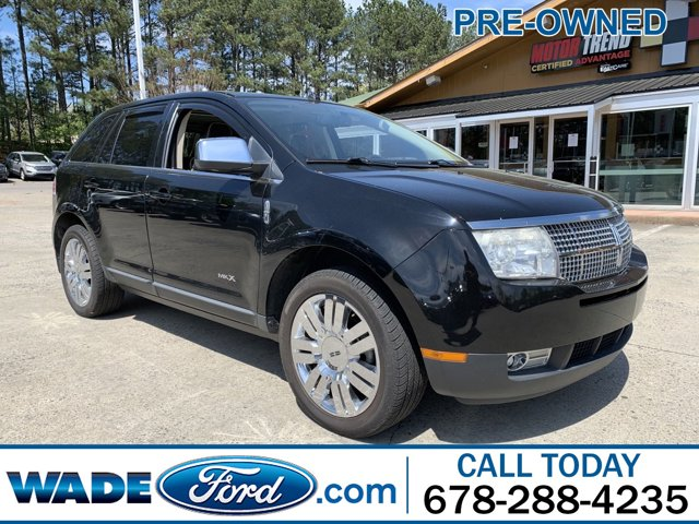 2008 Lincoln MKX AWD 4dr BLACK All Wheel Drive Air Conditioning