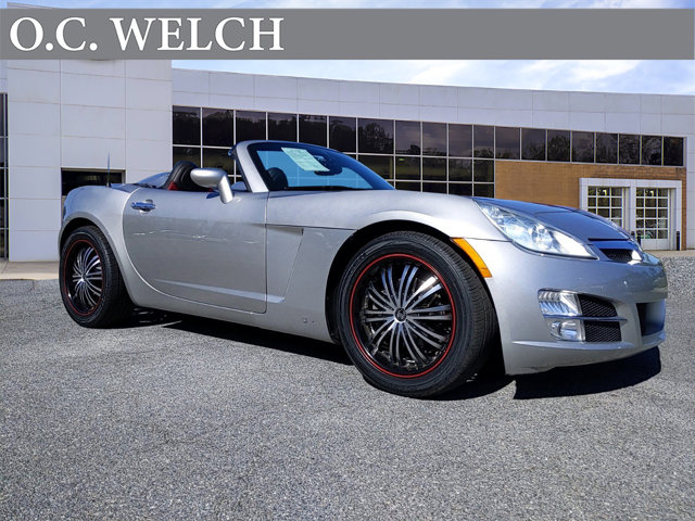 2008 Saturn Sky 2dr Conv SILVER PEARL CD Player Bucket Seats