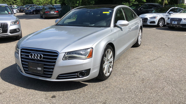 Certified 2014 Audi A8 L 4dr Sdn 3.0T ICE SILVER METALLIC