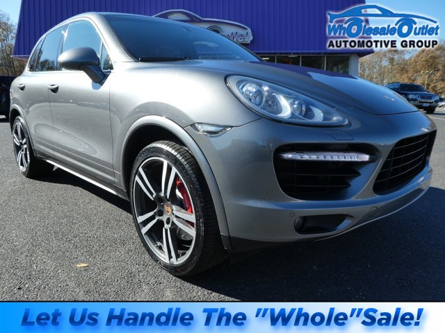 2014 Porsche Cayenne AWD 4dr Turbo GRAY Bluetooth Connection