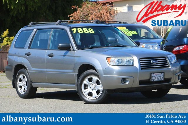 2007 Subaru Forester AWD 4dr H4 AT X URBAN GRAY METALLIC