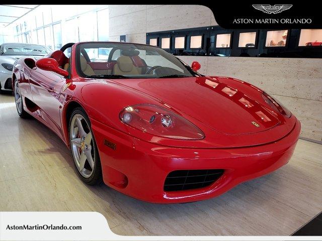 2004 Ferrari 360 2dr Convertible Spider ROSSO CORSE