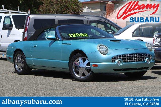 2002 Ford Thunderbird 2dr Convertible Deluxe THUNDERBIRD BLUE