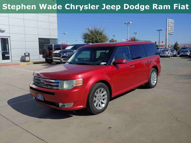 2010 Ford Flex 4dr SEL FWD RED Bluetooth Connection
