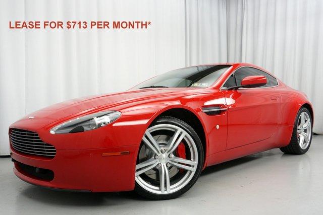 2009 Aston Martin Vantage 2dr Cpe Sportshift Rosso Corsa Specia