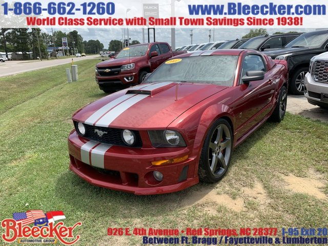 2007 Ford Mustang Cruise Control CD Player Bucket Seats
