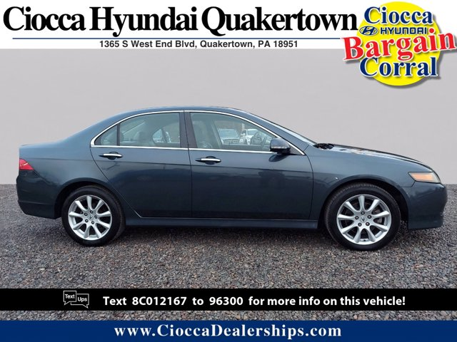 2008 Acura TSX 4dr Sdn Auto CARBON GRAY PEARL Bucket Seats