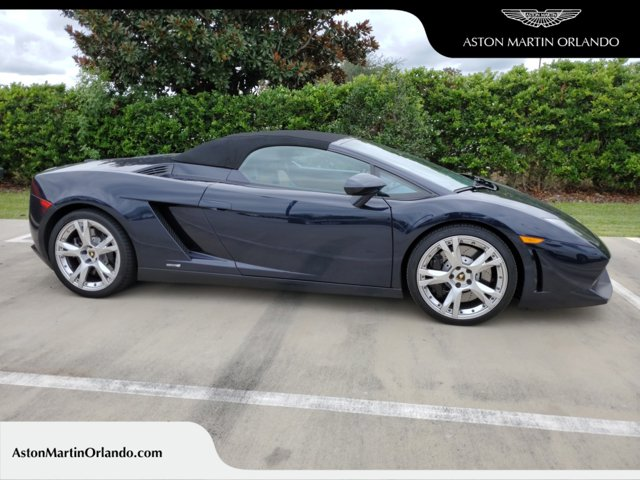 2013 Lamborghini Gallardo 2dr Conv LP550-2 Blu Fontus Metallic