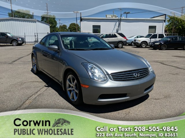 2007 Infiniti G35 Coupe GRAY Climate Control CD Player