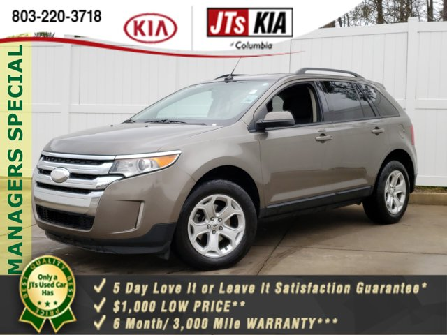 2013 Ford Edge 4dr SEL FWD Bluetooth Connection