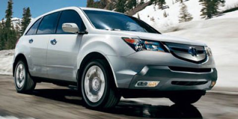2007 Acura MDX 4WD 4dr Sport/Entertainment Pkg WHITE