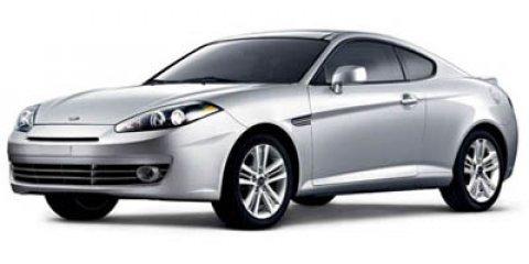 2007 Hyundai Tiburon 2dr Cpe I4 Auto GS SILVER