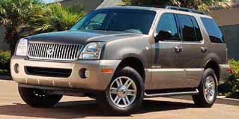 """2002 Mercury Mountaineer 4dr 114"""" WB AWD SILVER"""