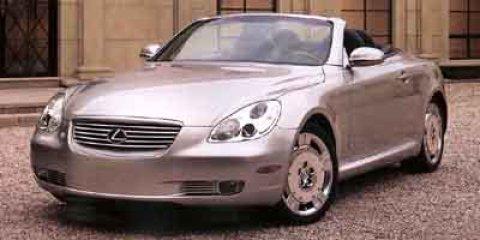 2002 Lexus SC 430 2dr Convertible PEARL Convertible Hardtop