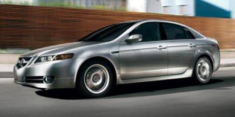 2008 Acura TL 4dr Sdn Auto RED Bucket Seats Brake Assist