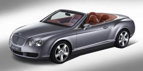 2010 Bentley Continental GT 2dr Conv Speed BLACK