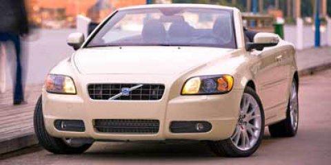 2009 Volvo C70 WHITE CD Player Bucket Seats Brake Assist