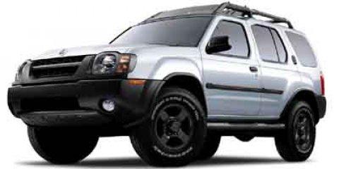 2002 Nissan Xterra 4dr SE 2WD V6 Manual BLACK Cloth Seats