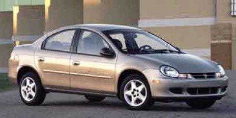 2003 Dodge Neon 4dr Sdn SXT CHARCOAL Bucket Seats